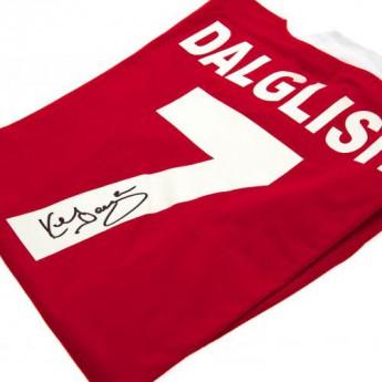 Legendák futball mez FC Liverpool Dalglish Signed Shirt