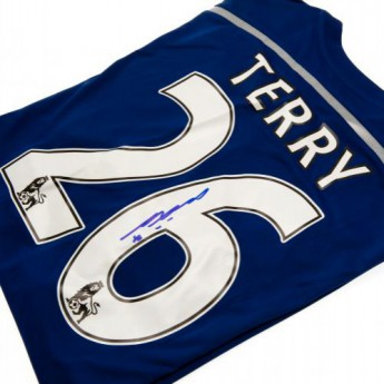 Legendák futball mez FC Chelsea Terry Signed Shirt