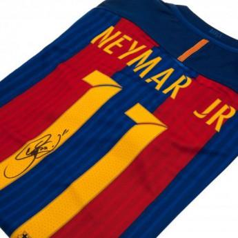 Legendák férfi póló FC Barcelona Neymar Signed Shirt