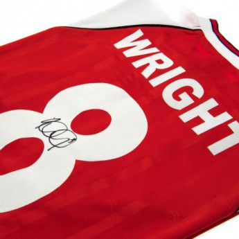 Legendák futball mez FC Arsenal Wright Signed Shirt