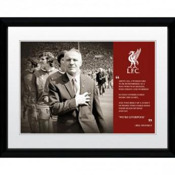 FC Liverpool kép keretben Shankly 16 x 12