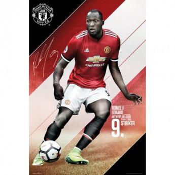 Manchester United plakát Lukaku 40