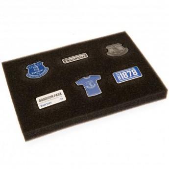 FC Everton kitűző szett 6 Piece Badge Set