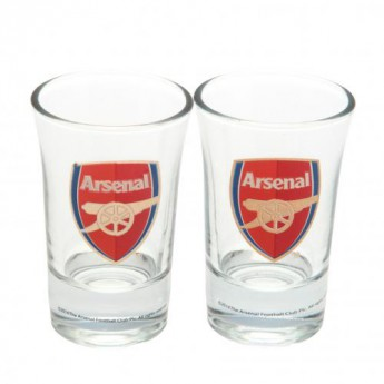 FC Arsenal féldecis pohár 2pk Shot Glass Set