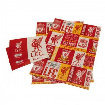 FC Liverpool csomagolópapír Gift Wrap