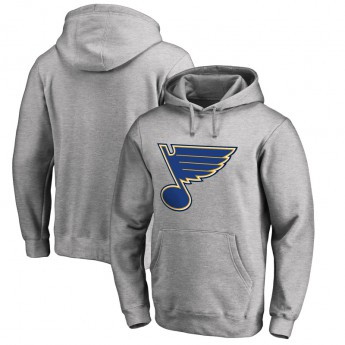 St. Louis Blues férfi kapucnis pulóver grey Fanatics Branded Primary Logo