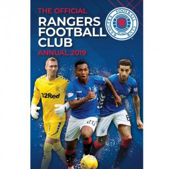 FC Rangers könyv évkönyv Annual 2019