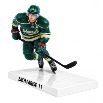 Minnesota Wild bábu Zach Parise #11 Imports Dragon Player Replica