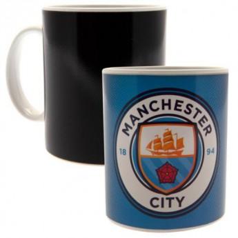 Manchester City bögre Heat Changing Mug GR