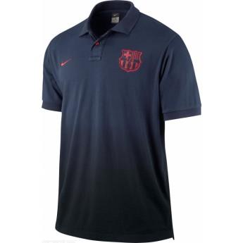 FC Barcelona férfi póló azul uno