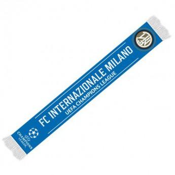 Inter Milan téli sál Champions League Scarf