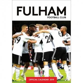 Fulham naptár 2019 official A3