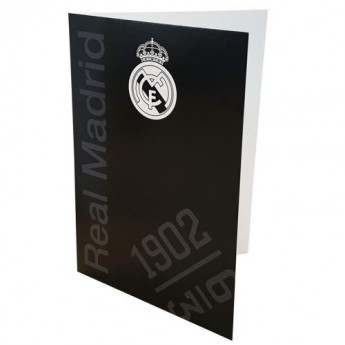 Real Madrid gratuláció Greetings Card BK