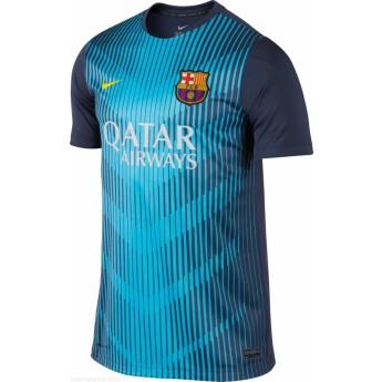 FC Barcelona azul uno férfi póló