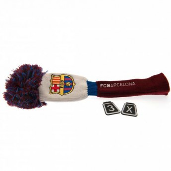 FC Barcelona golf headcover Headcover Pompom (Fairway)