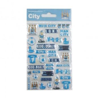 Manchester City öntapadós matricák team