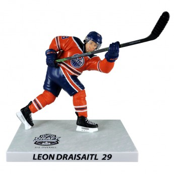 Edmonton Oilers bábu Leon Draisaitl #29 DRAFT Imports Dragon Player Replica