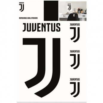 Juventus fali matrica Wall Sticker A4