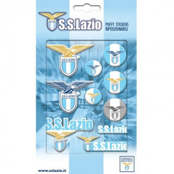 Lazio Roma matricák Bubble Sticker Set