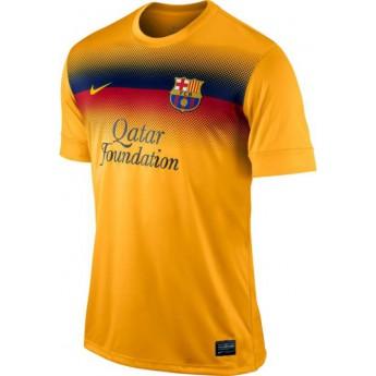 FC Barcelona narancssárga színű edzőpóló