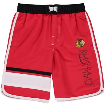 Chicago Blackhawks gyerek fürdőruha Color Block Swim Trunks