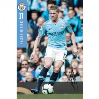 Manchester City F.C. Poster De Bruyne 70