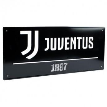 Juventus fali tábla Street Sign BK