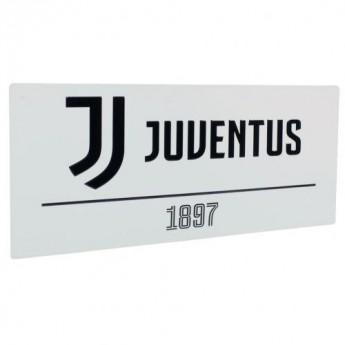 Juventus fali tábla Street Sign