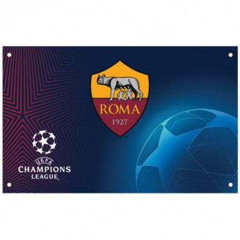 AS Roma zászló Champions League Flag