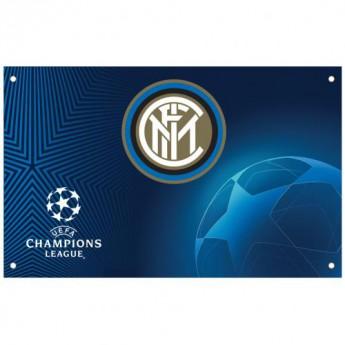 Inter Milan zászló Champions League Flag
