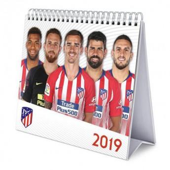Atletico Madrid asztali naptár Desktop Calendar 2019