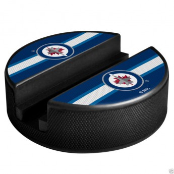 Winnipeg Jets telefon tartó Puck Media Holder
