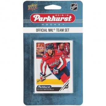 Washington Capitals NHL hokikártyák Upper Deck Parkhurst 2018/19 Team Card Set