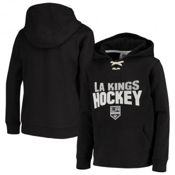 Los Angeles Kings gyerek kapucnis pulóver Off The Ice Lace-Up Pullover Hoodie