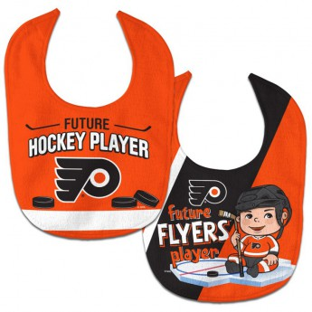 Philadelphia Flyers gyerek nyálazó előke WinCraft Future Hockey Player 2 Pack