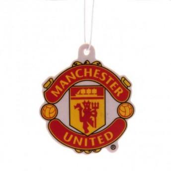 Manchester United légfrissítő logo redblack