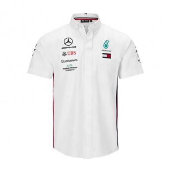 Mercedes AMG Petronas férfi ing white F1 Team 2019