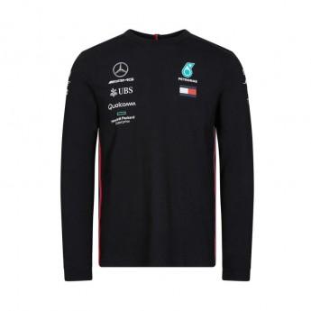 Mercedes AMG Petronas férfi hosszú ujjú póló black F1 Team 2019
