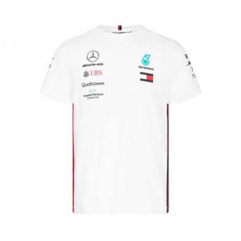 Mercedes AMG Petronas férfi póló white F1 Team 2019