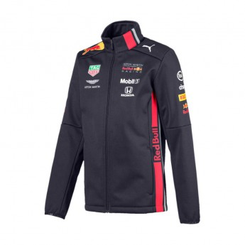 Red Bull Racing gyerek kabát softshell navy Team 2019