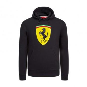 Ferrari férfi kapucnis pulóver black Logo F1 Team 2019