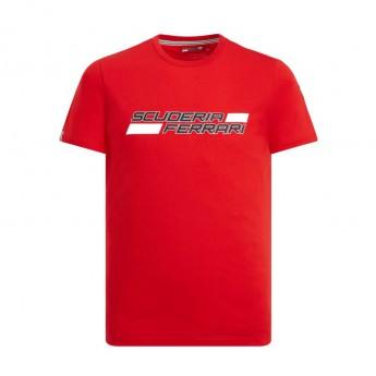 Ferrari férfi póló Logo red F1 Team 2019