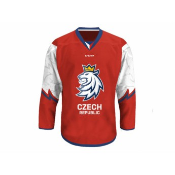 Jégkorong képviselet hoki mez red Czech Ice Hockey CCM David Pastrňák 88