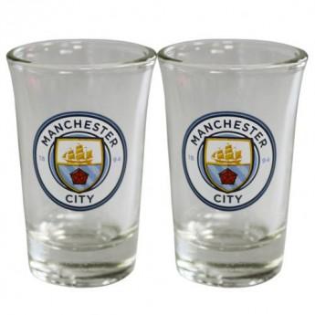 Manchester City féldecis pohár 2pk Shot Glass Set