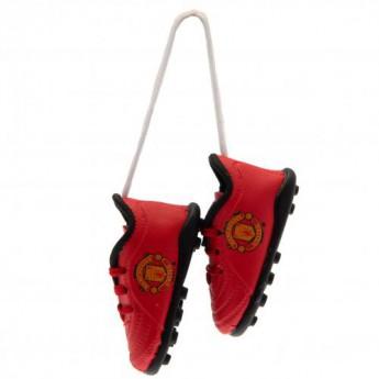 Manchester United mini cipő az autóba Mini Football Boots
