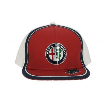 Alfa Romeo Racing baseball flat sapka Giovinazzi red F1 Team 2019