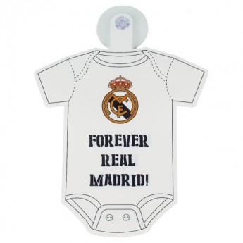 Real Madrid mini autós body Baby On Board Sign