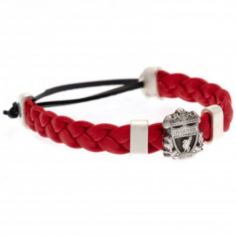 FC Liverpool karkötő PU Slider Bracelet