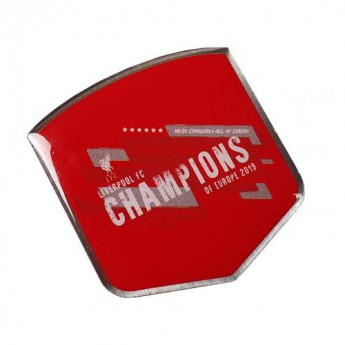 FC Liverpool jelvény Champions Of Europe Badge