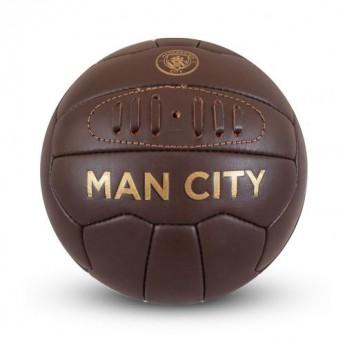 Manchester City mini focilabda Retro Heritage Mini Ball - size 1